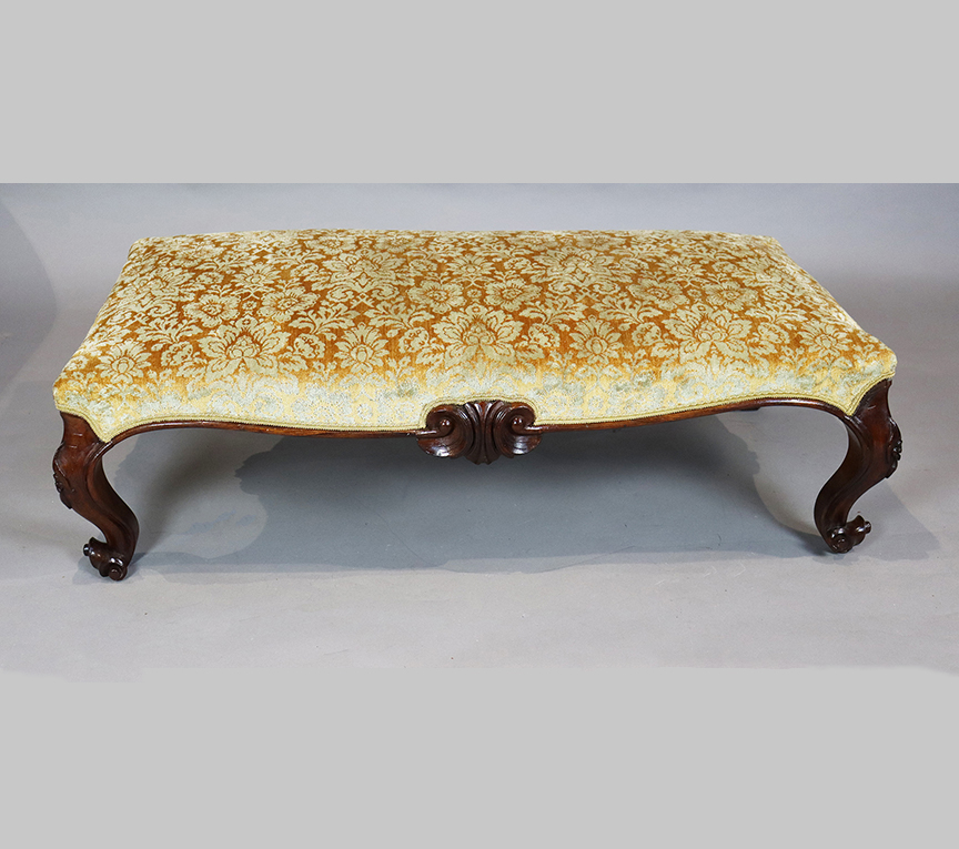 Large Victorian Foot Stool