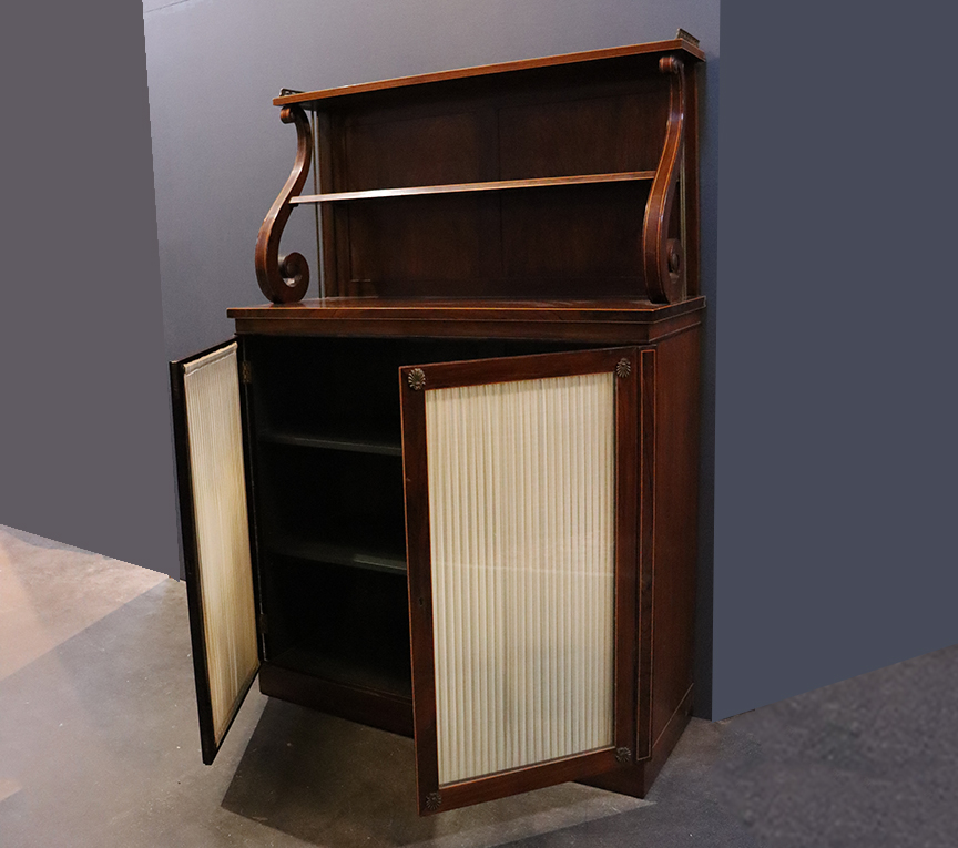 Pair of Rosewood Chiffoniers