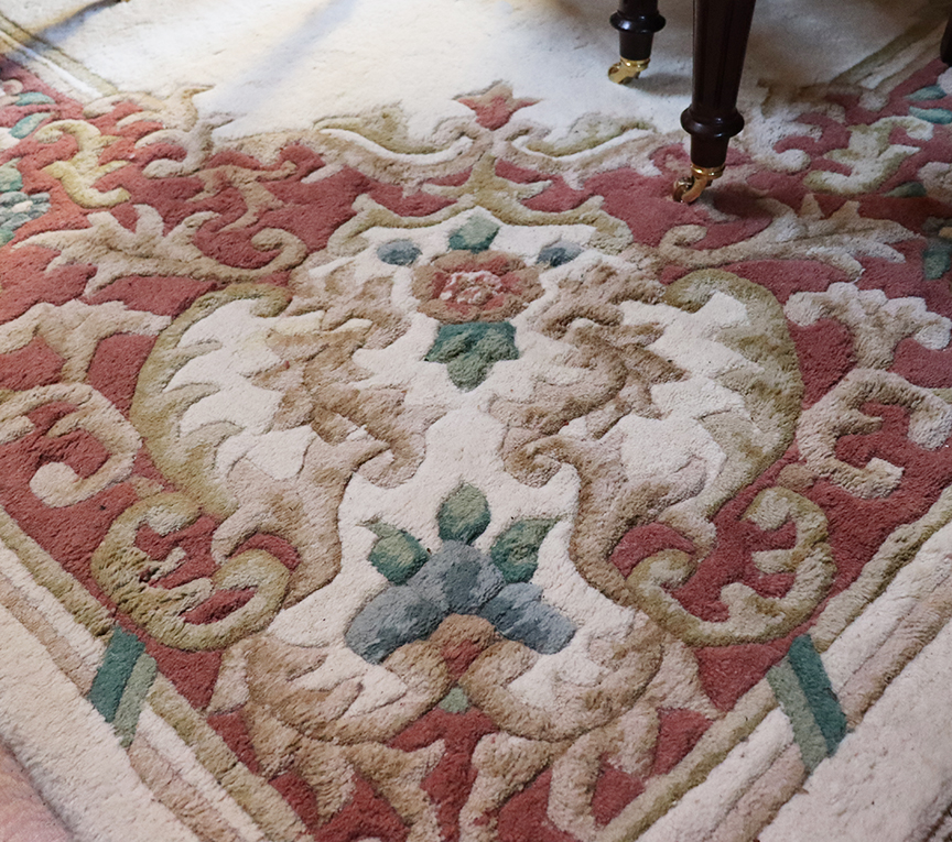 Large Vintage Carpet
