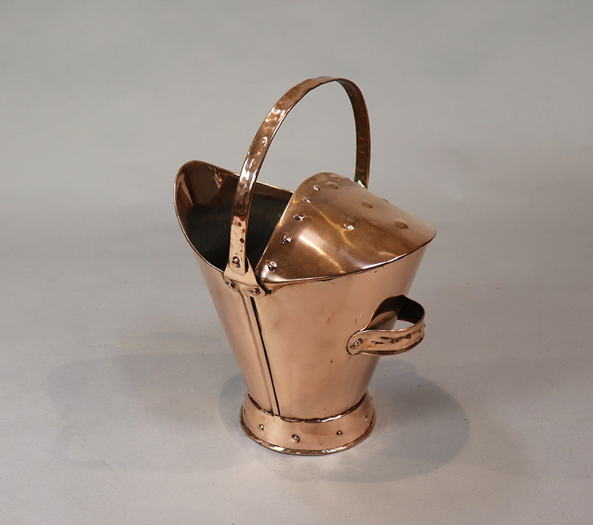 Arts & Crafts Copper Bucket